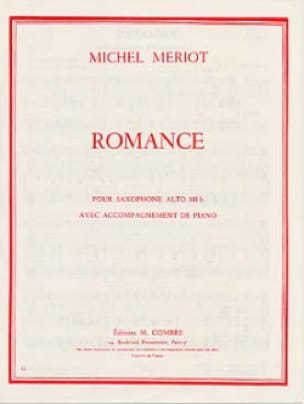 Romance - Michel Mériot - Partition - Saxophone - laflutedepan.com