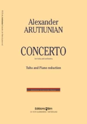 Alexander Arutiunian - Concerto - Partition - di-arezzo.fr