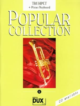 Popular collection volume 6 Partition Trompette - laflutedepan