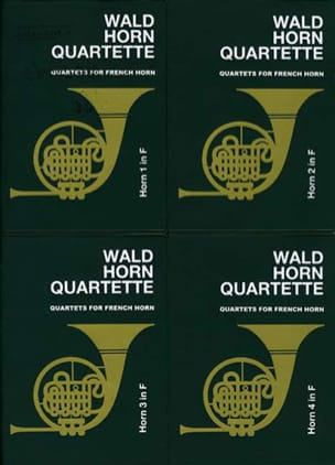 - Wald horn quartette volume 1 - Partition - di-arezzo.fr