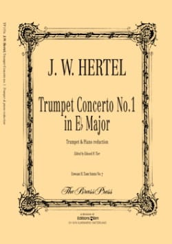 Johann Wilhelm Hertel - Trumpet Concerto No. 1 In Eb Major - Sheet Music - di-arezzo.com