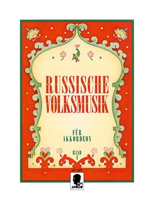 Russische Volksmusik Volume 1 Partition Accordéon - laflutedepan