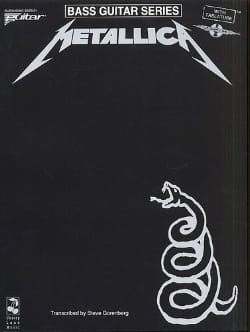 Black Album Metallica Partition Pop / Rock - laflutedepan