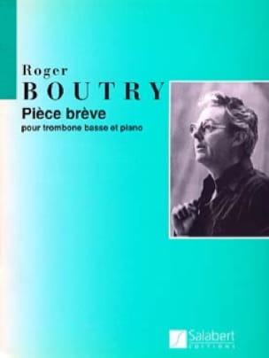 Roger Boutry - Brêve Room - Sheet Music - di-arezzo.co.uk