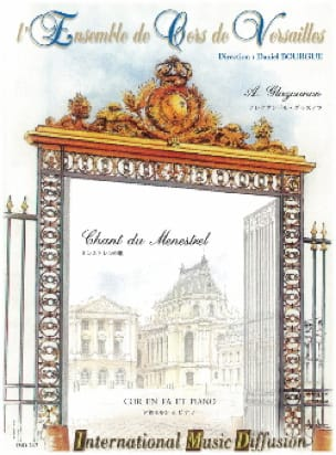 Alexander Glazounov - Song of the Menestrel - Sheet Music - di-arezzo.com