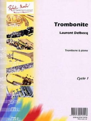 Laurent Delbecq - Trombonite - Partition - di-arezzo.fr
