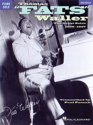 The Great Solos 1929-1937 Fats Waller Partition Jazz - laflutedepan
