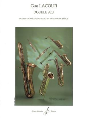 Double Jeu - Guy Lacour - Partition - Saxophone - laflutedepan.com