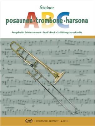 Trombone ABC - Partition - Trombone - laflutedepan.com