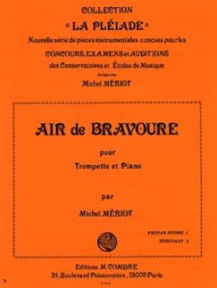 Air de Bravoure - Michel Mériot - Partition - laflutedepan.com
