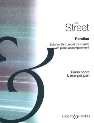 Rondino - Allan Street - Partition - Trompette - laflutedepan.com
