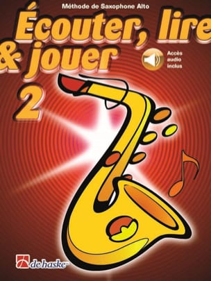 DE HASKE - Play Play and Play - Method Volume 2 - Alto Saxophone - Sheet Music - di-arezzo.co.uk