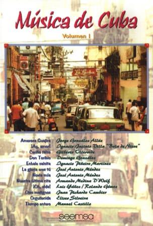 - Musica de Cuba Volume 1 - Partition - di-arezzo.fr