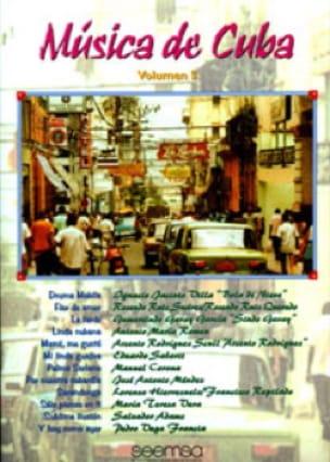 - Musica de Cuba Volume 3 - Partition - di-arezzo.fr