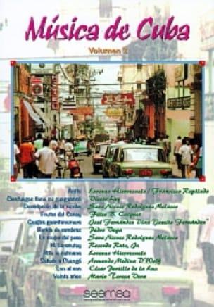 Musica de Cuba Volume 2 - Partition - laflutedepan.com