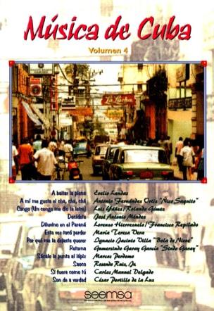 - Musica de Cuba Volume 4 - Partition - di-arezzo.fr