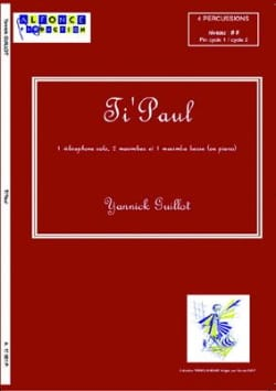 Ti' Paul - Yannick Guillot - Partition - laflutedepan.com