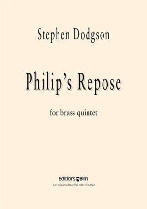 Stephen Dodgson - Philip's Repose - Partition - di-arezzo.fr