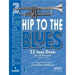 Lee West - Hip To The Blues 22 Jazz Duets Volume 1 - Sheet Music - di-arezzo.co.uk
