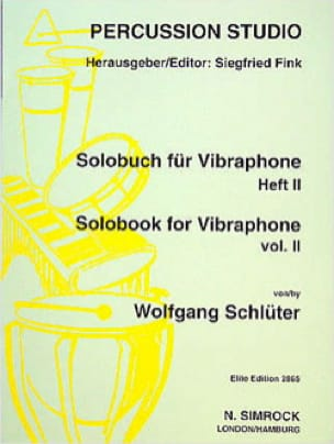 Wolfgang Schlüter - Solobook For Vibraphone Volume 2 - Sheet Music - di-arezzo.com