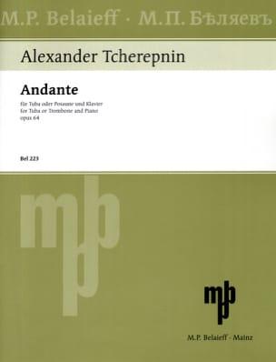 Alexander Tcherepnin - Andante Opus 64 - Partition - di-arezzo.fr