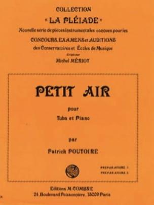 Patrick Poutoire - Petit Air - Partition - di-arezzo.fr