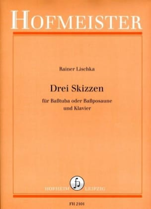 Rainer Lischka - Drei Skizzen - Partition - di-arezzo.fr