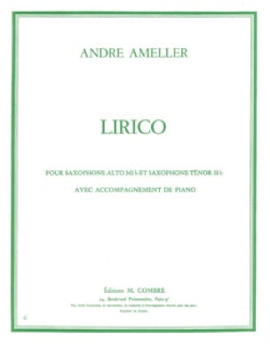 André Ameller - Lirico - Sheet Music - di-arezzo.co.uk
