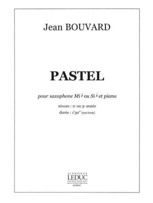 Pastel Jean Bouvard Partition Saxophone - laflutedepan