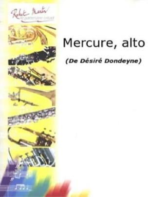Mercure - Désiré Dondeyne - Partition - Saxophone - laflutedepan.com