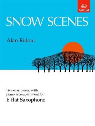Alan Ridout - Snow Scenes - Partition - di-arezzo.fr