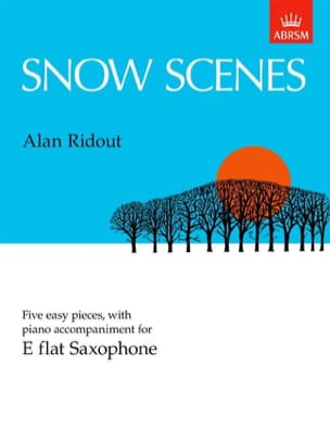 Alan Ridout - Snow Scenes - Sheet Music - di-arezzo.com