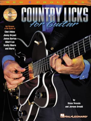Trovato Steve / Arnold Jerome - Country Licks For Guitar - Sheet Music - di-arezzo.co.uk