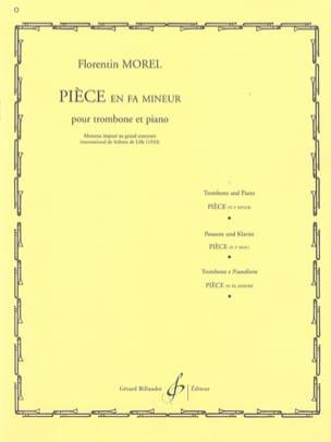 Florentin Morel - Piece In F Minor - Sheet Music - di-arezzo.co.uk