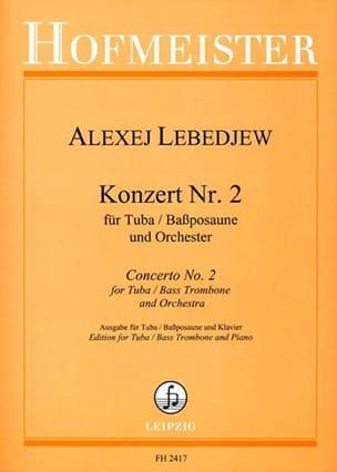 Alexej Lebedjew - Konzert N ° 2 - Sheet Music - di-arezzo.com