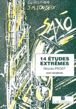 Nicolas Prost - 14 Estudios extremos - Partitura - di-arezzo.es