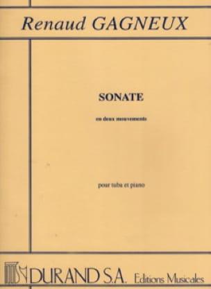 Renaud Gagneux - Sonate en deux mouvements - Partition - di-arezzo.fr