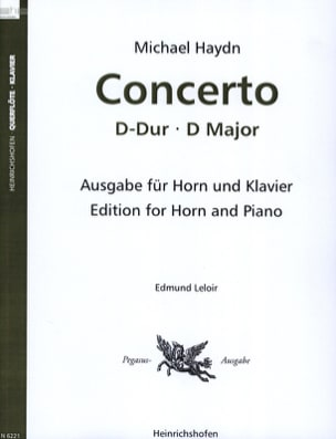 Michael Haydn - Concerto In D Major - Sheet Music - di-arezzo.com