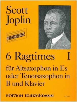 Scott Joplin - 6 Ragtimes Volumen 1 - Partitura - di-arezzo.es