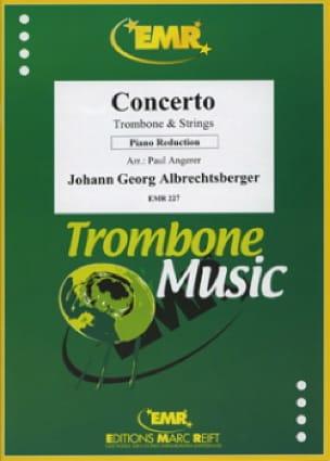 Concerto Johann Georg Albrechtsberger Partition laflutedepan