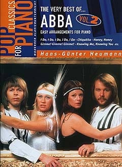 ABBA - The Very Best Of Volume 2 - Partition - di-arezzo.co.uk