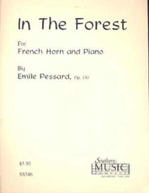 In The Forest Opus 130 Emile Pessard Partition Cor - laflutedepan