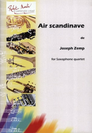 Air Scandinave Joseph Zemp Partition Saxophone - laflutedepan