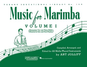 Music For Marimba Volume 1 Partition Marimba - laflutedepan