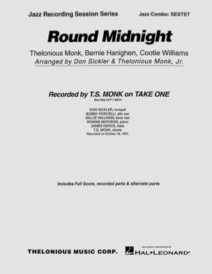 Round Midnight T. Monk Partition ENSEMBLES - laflutedepan