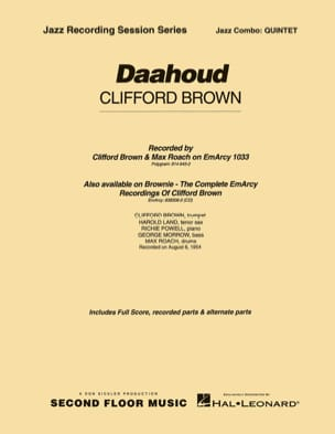 Clifford Brown - Daahoud - Partition - di-arezzo.fr