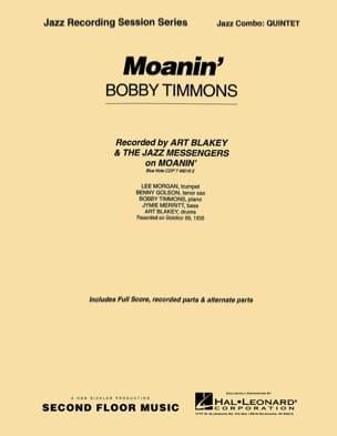 Bobby Timmons - Moanin - Partitura - di-arezzo.es