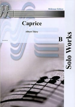 Albert Thiry - Caprice - Partition - di-arezzo.fr