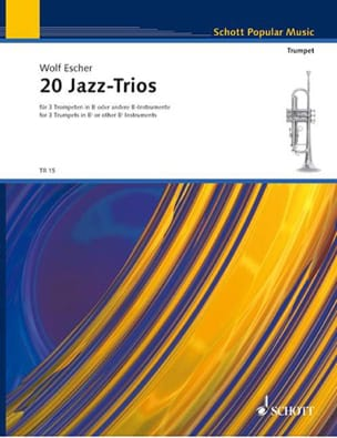 Wolf Escher - 20 Jazz Trios - Partition - di-arezzo.fr