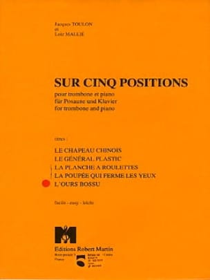 Jacques Toulon - L' Ours Bossu - 5 Positions - Partition - di-arezzo.fr